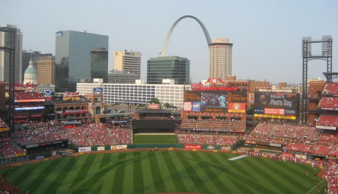 Busch Stadium Views of the Arch