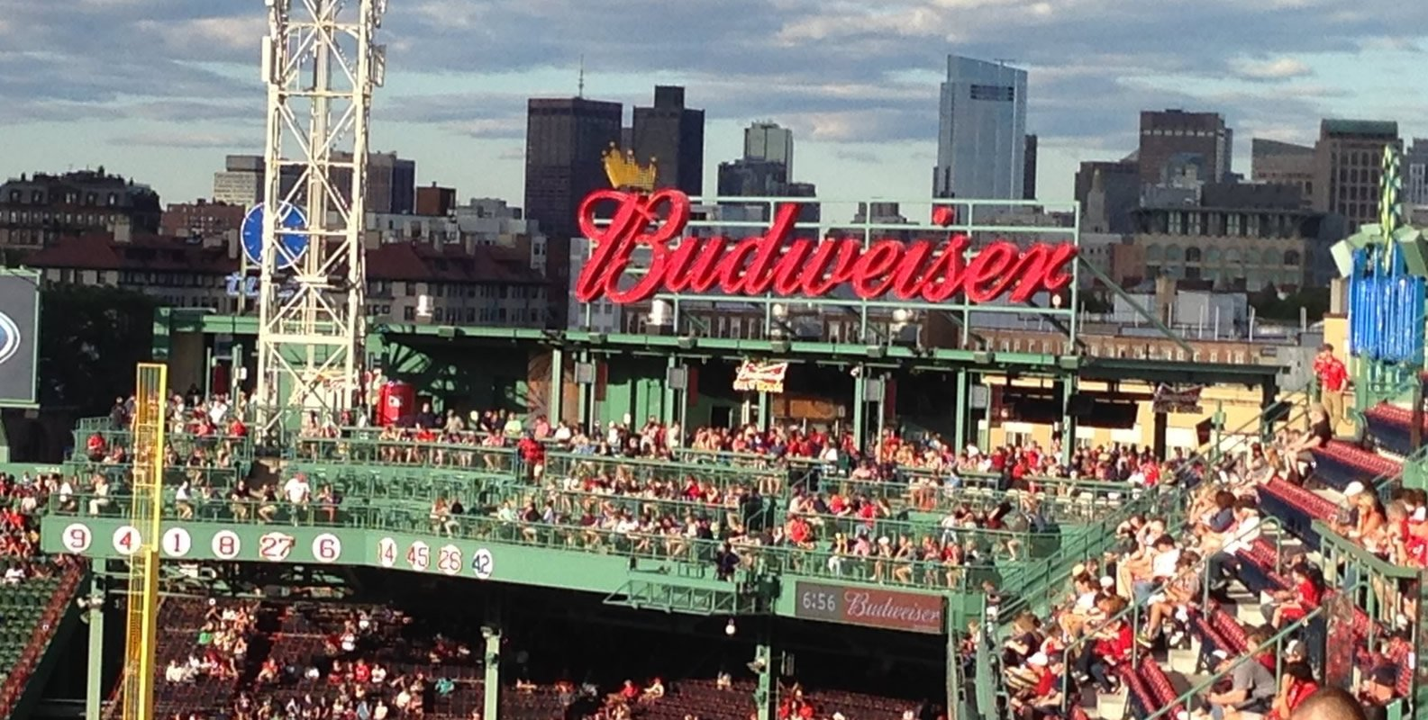 boston red sox fenway park seating chart & interactive map