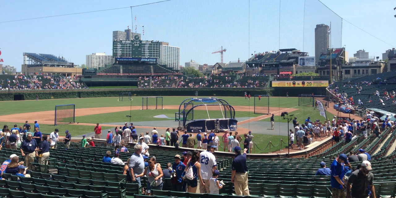 Baseball Purists Will Find Some Of The Best Spots For Watching A At Wrigley In Upper Rows Field Box 100 Level Seats
