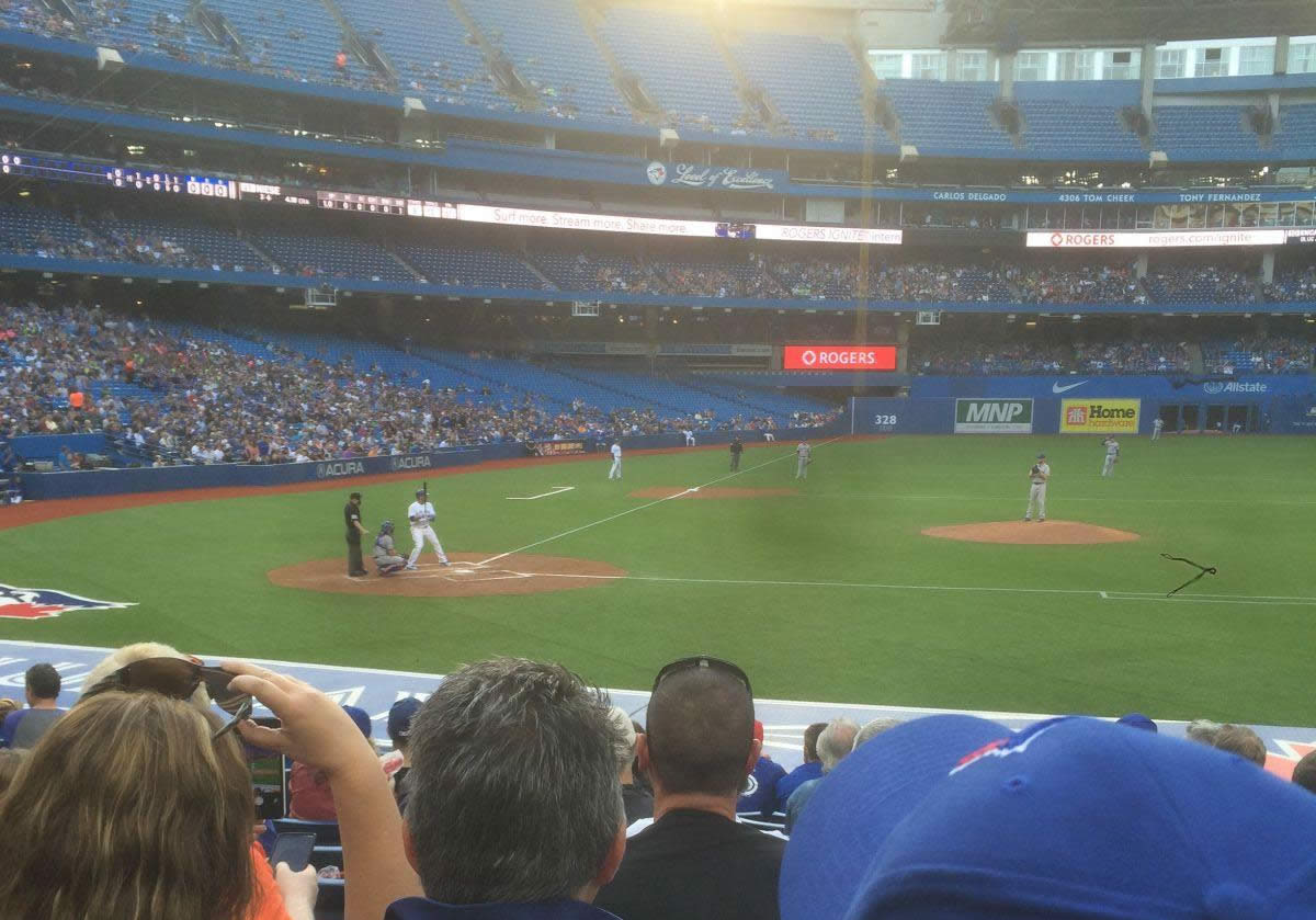 Rogers Centre Visiting Team Fans