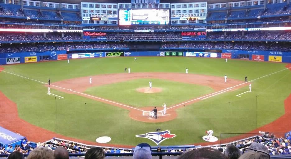 Toronto Blue Jays Rogers Centre Seating Chart Rateyourseatscom