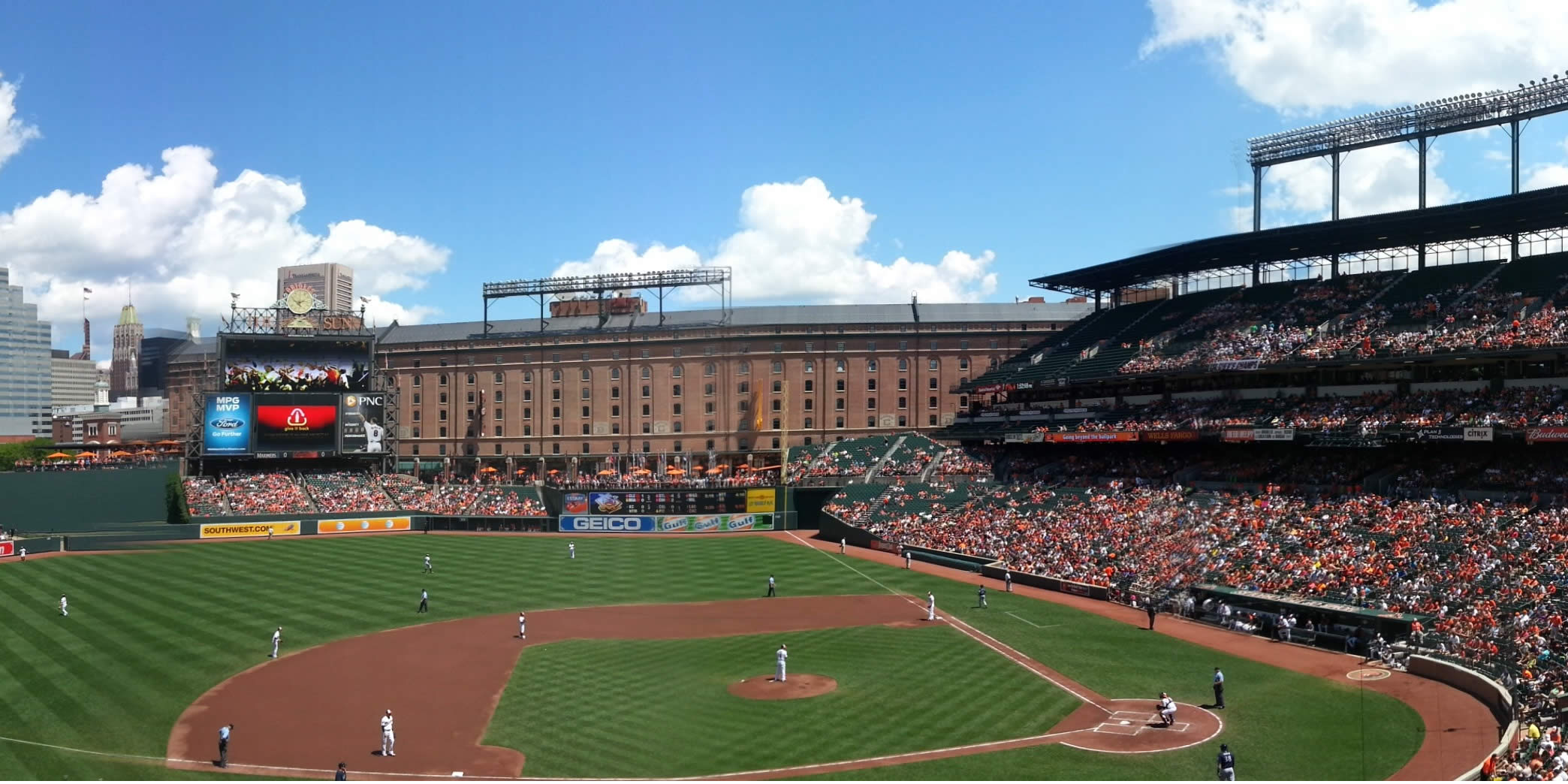Baltimore Orioles Oriole Park Seating