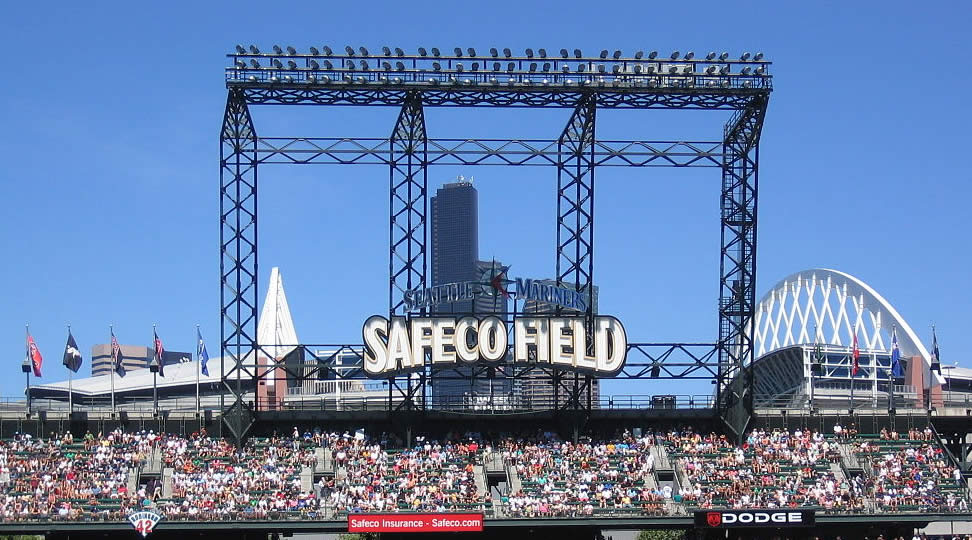 Seattle Mariners Safeco Field Seating Chart Interactive Map - Safeco field interactive seating chart
