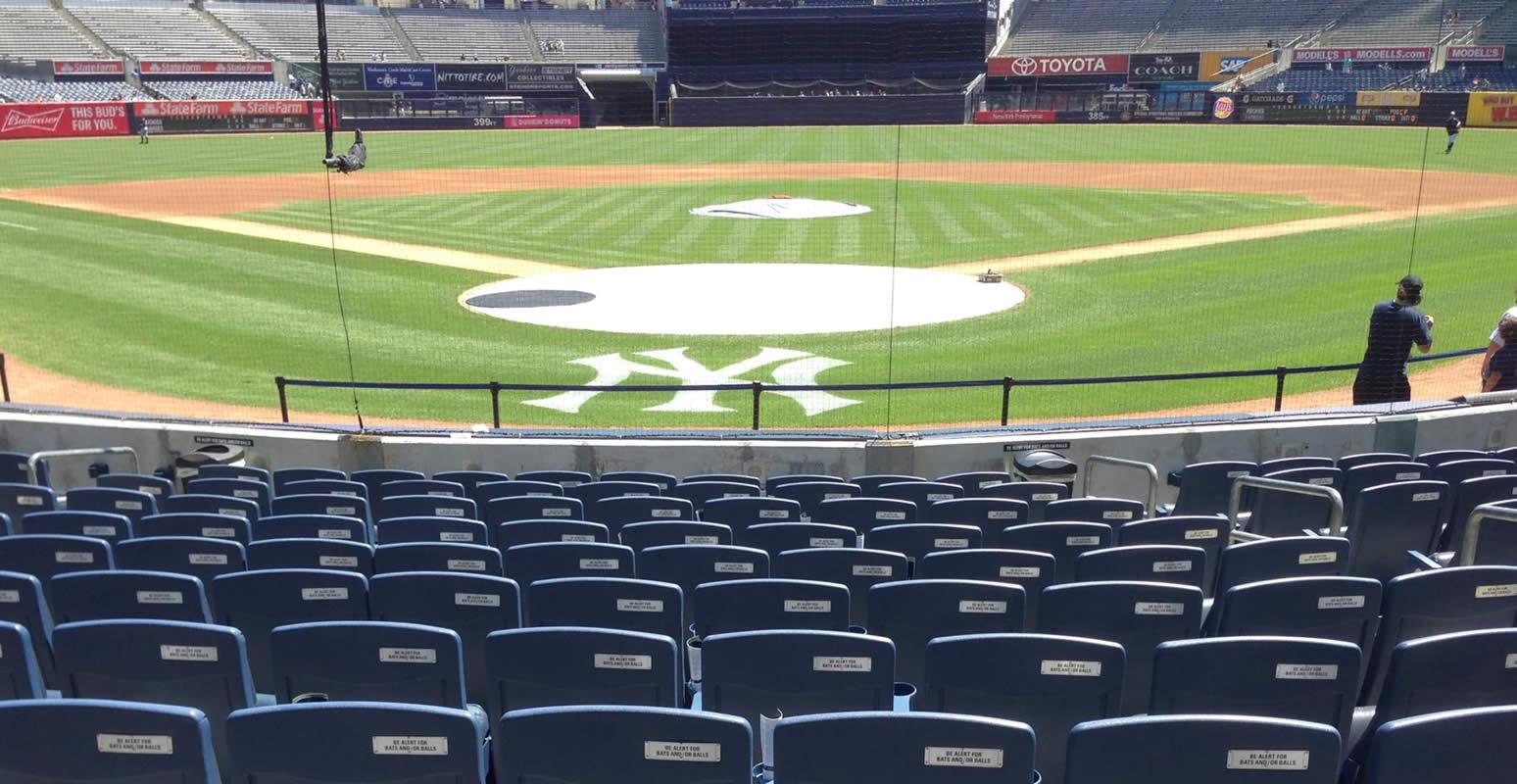 Yankee Stadium Section 133 New York Yankees