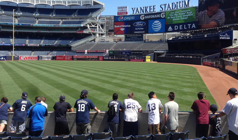 Yankee Stadium Section 227b New York Yankees
