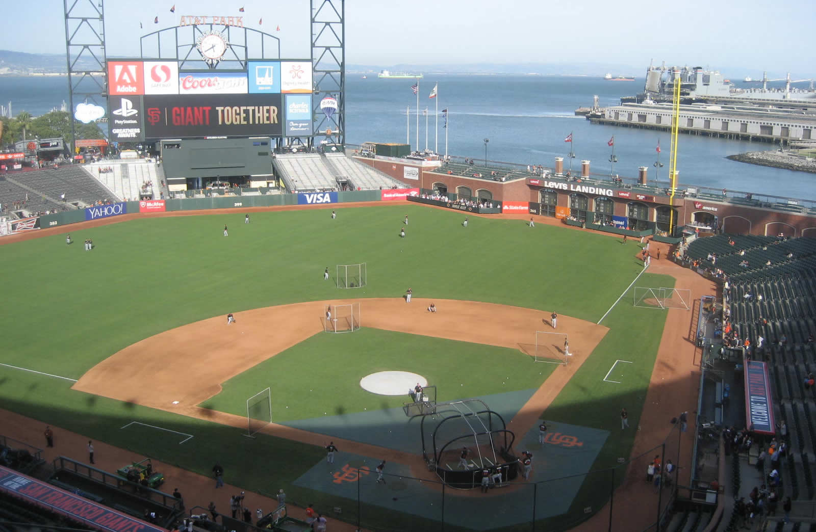 Best Seats For Great Views Of The Field At Oracle Park