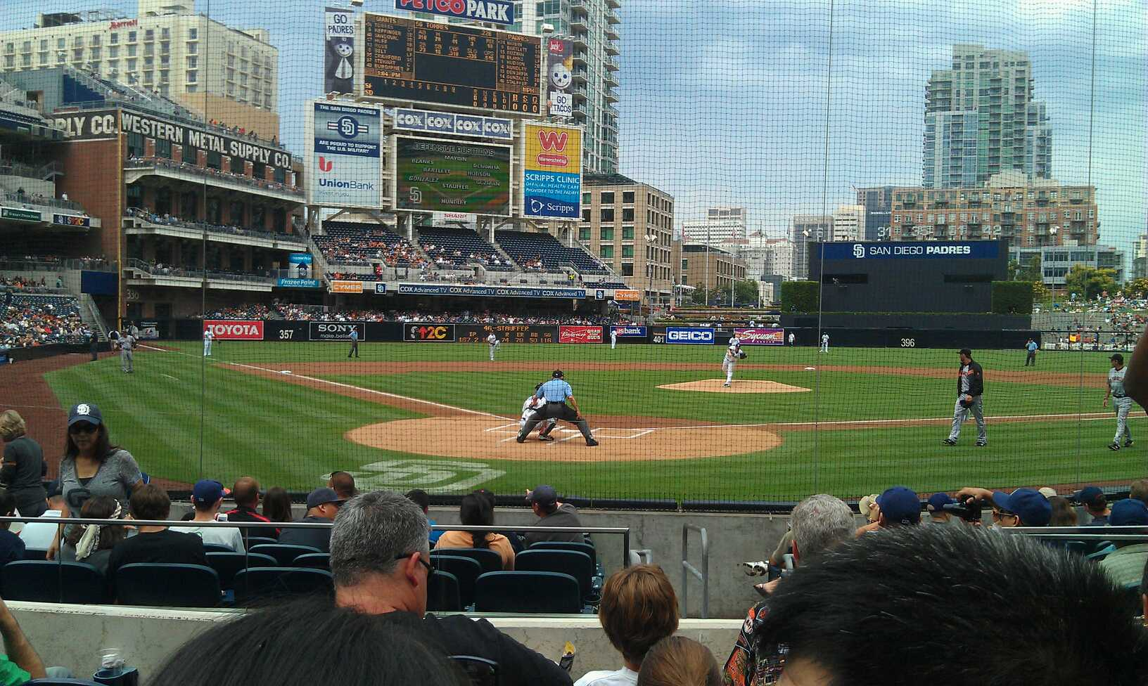 San Diego Padres Seating Guide
