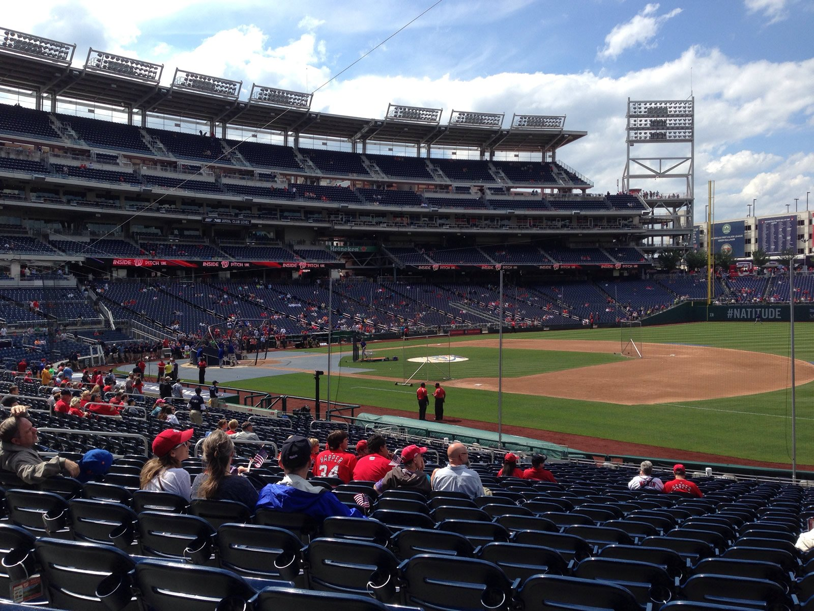 Nationals Park Great Views of the Field