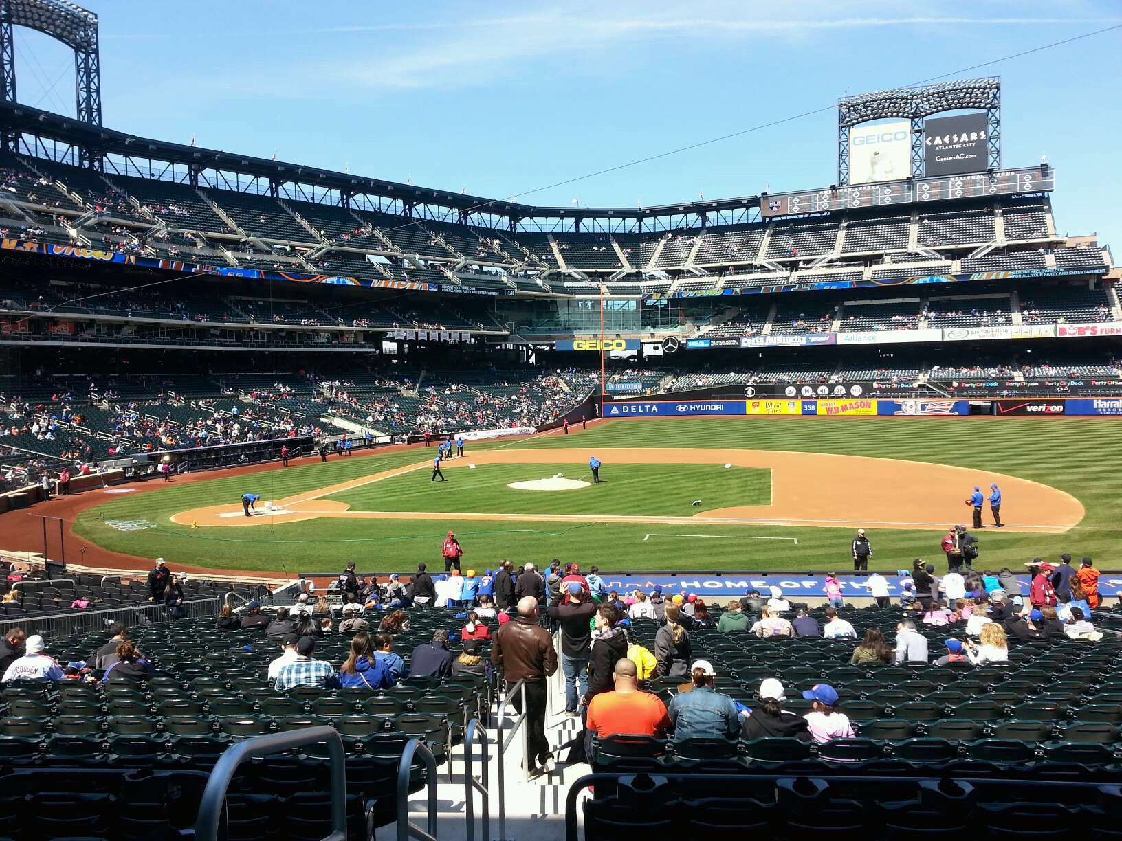 New York Mets Citi Field Seating Chart Interactive Map