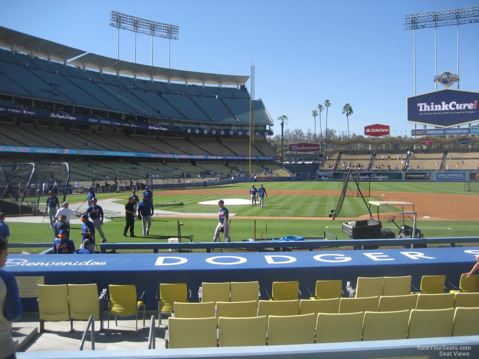 Dodger Stadium Visiting Team Fans