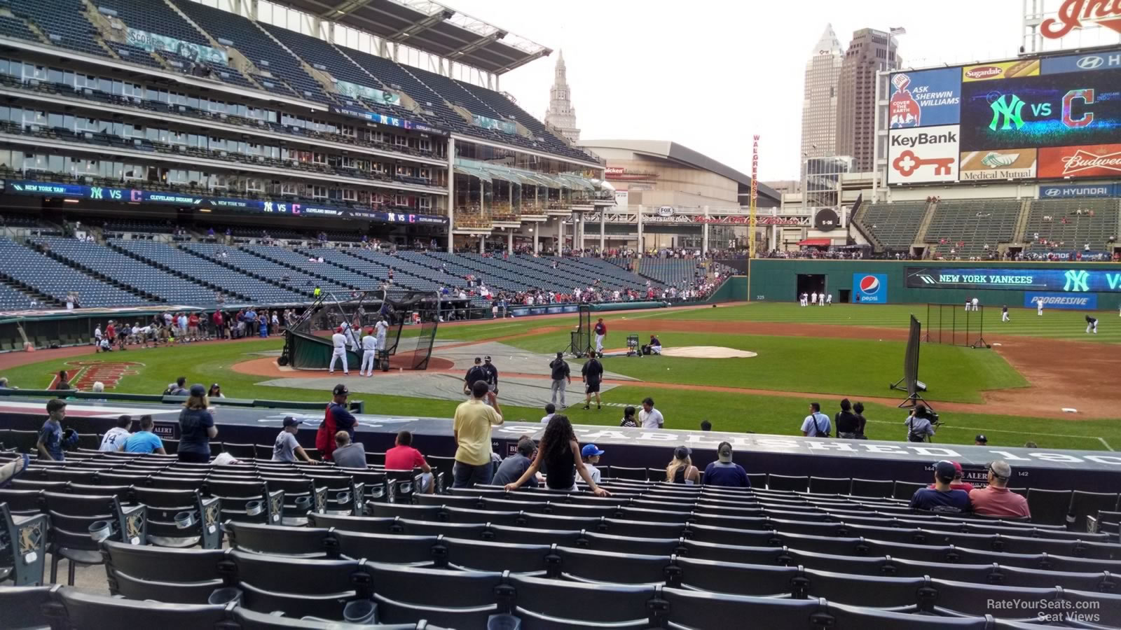 Progressive Field Map Cleveland Indians Seating Guide   Progressive Field  Progressive Field Map