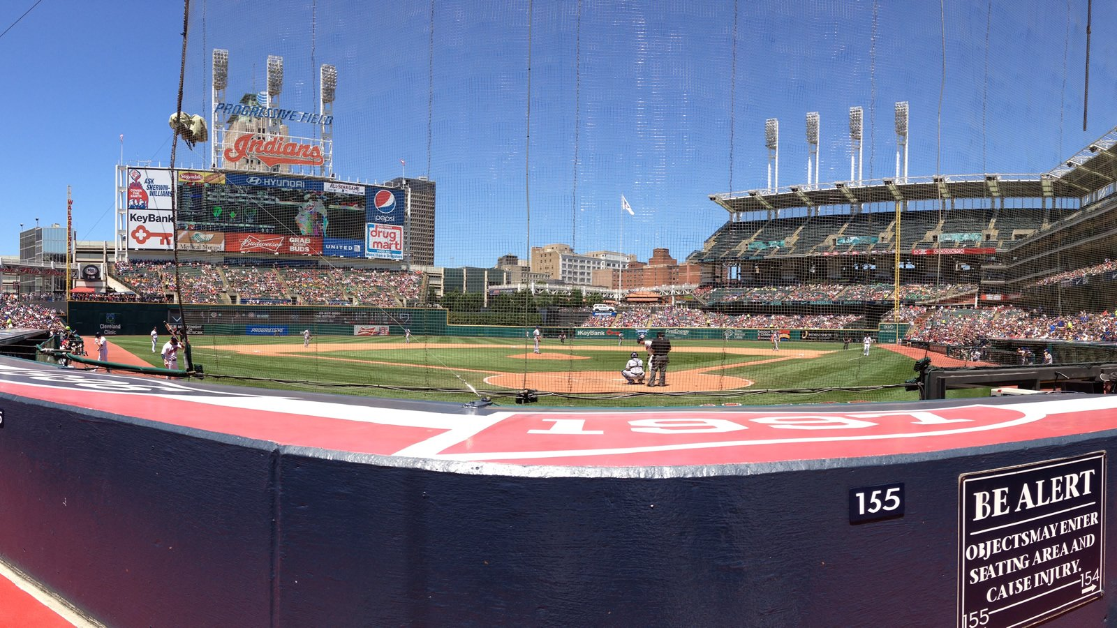 Cleveland Indians Seating Guide Progressive Field