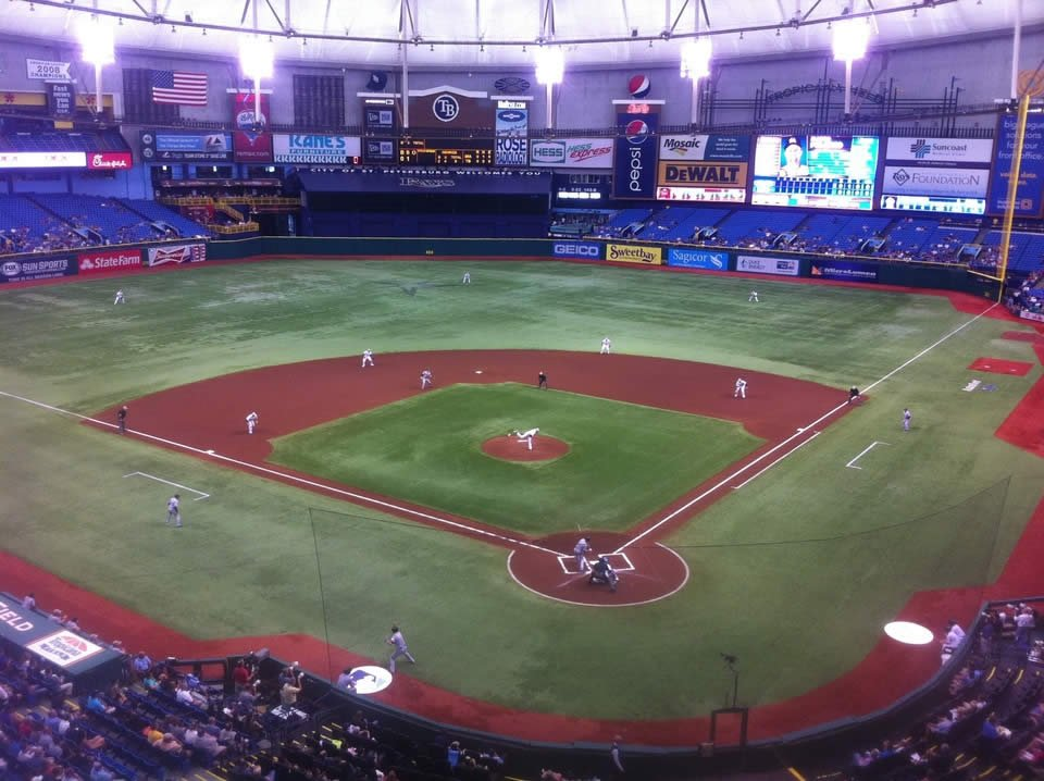 Tropicana Field Great Views of the Field