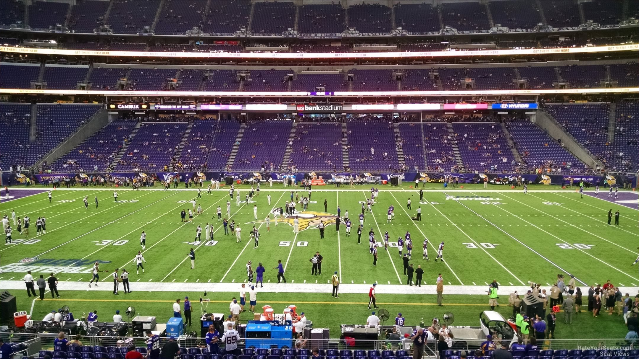 Best Seats For Great Views Of The Field At U S Bank Stadium