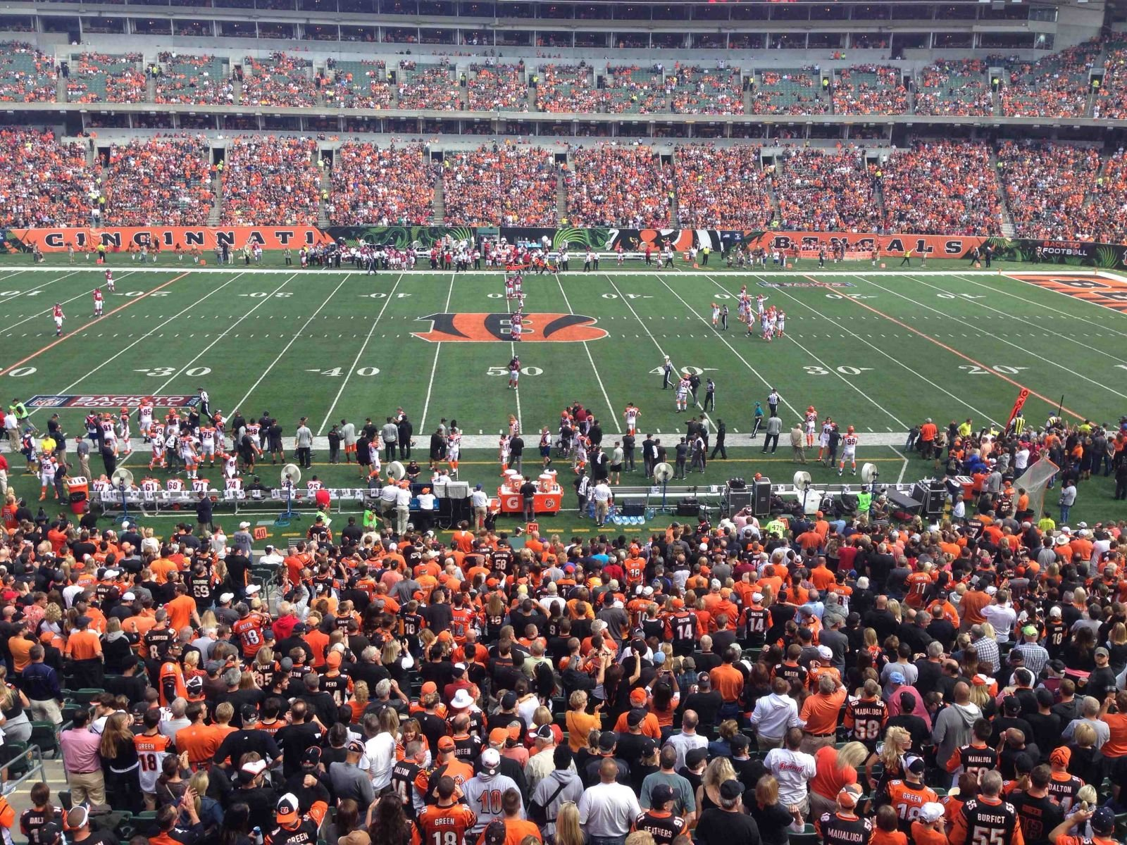 Best Seats For Great Views Of The Field At Paul Brown Stadium