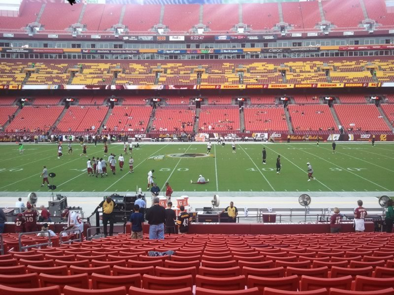 Fedex Field Is Known For Being Home To Some Of The Most Obstructed Views In Football And Will Argue That Areas Are Even Worse Than What