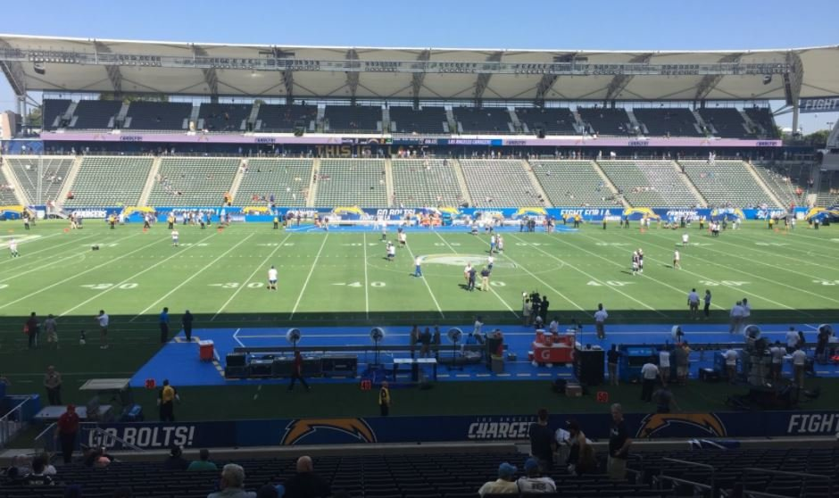 Los Angeles Chargers Seating Guide Stubhub Center
