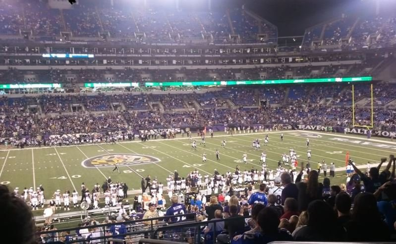 M&T Bank Stadium Great Views of the Field