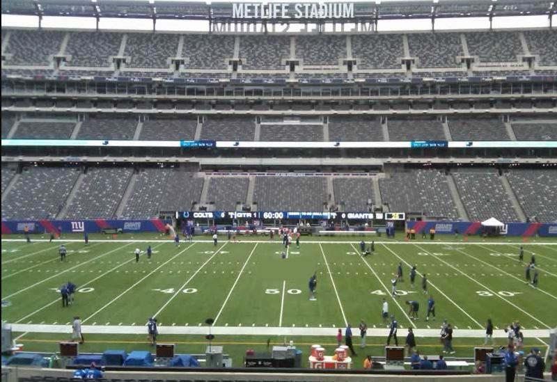 Metlife Stadium Section 230 Giants Jets Rateyourseats Com