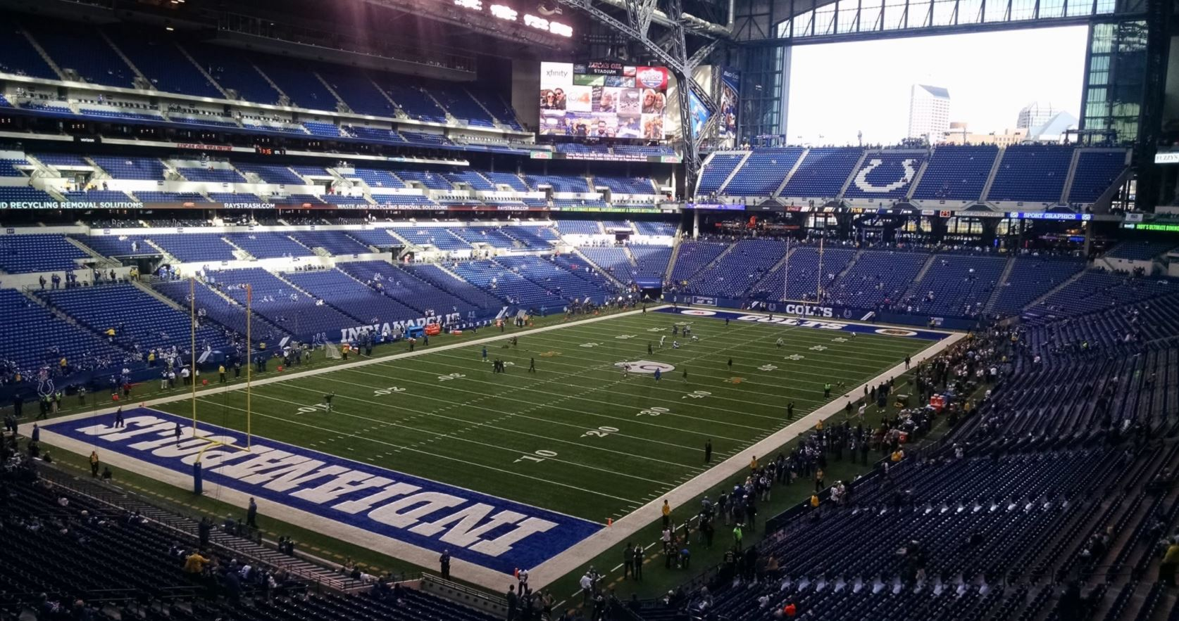 Best Seats For Great Views Of The Field At Lucas Oil Stadium