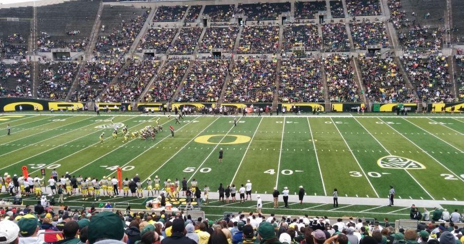 Best Seats For Great Views Of The Field At Autzen Stadium