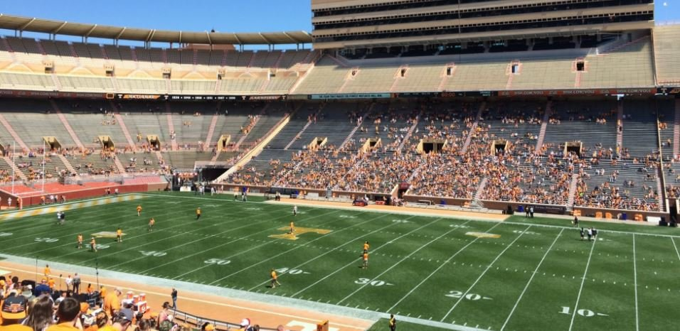 Best Seats For Great Views Of The Field At Neyland Stadium