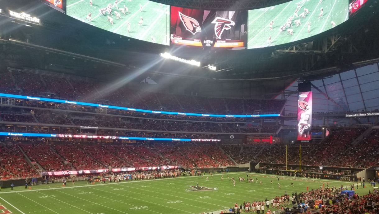 Atlanta Falcons Seating Guide - Mercedes-Benz Stadium ...