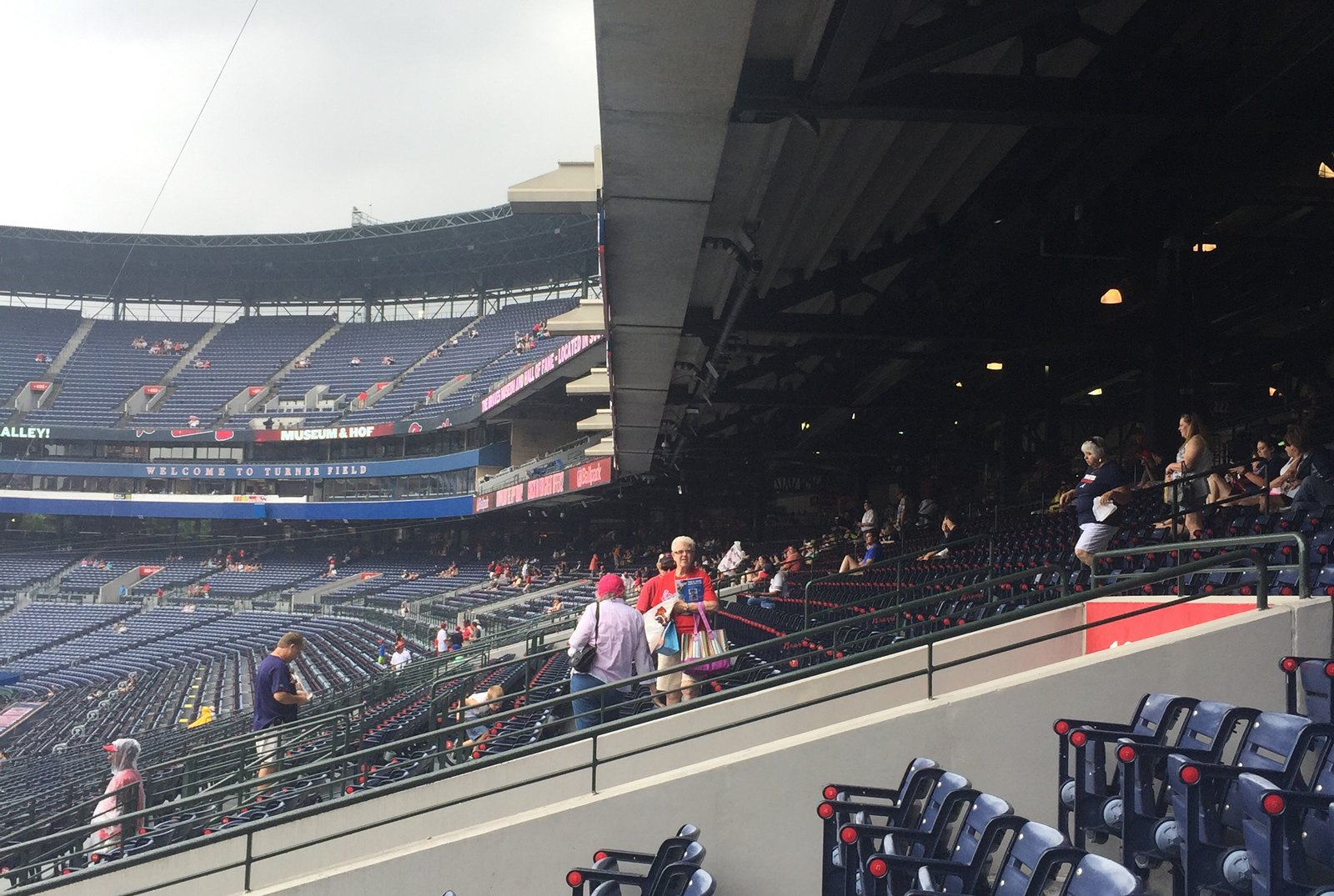 Turner Field Covered Seats