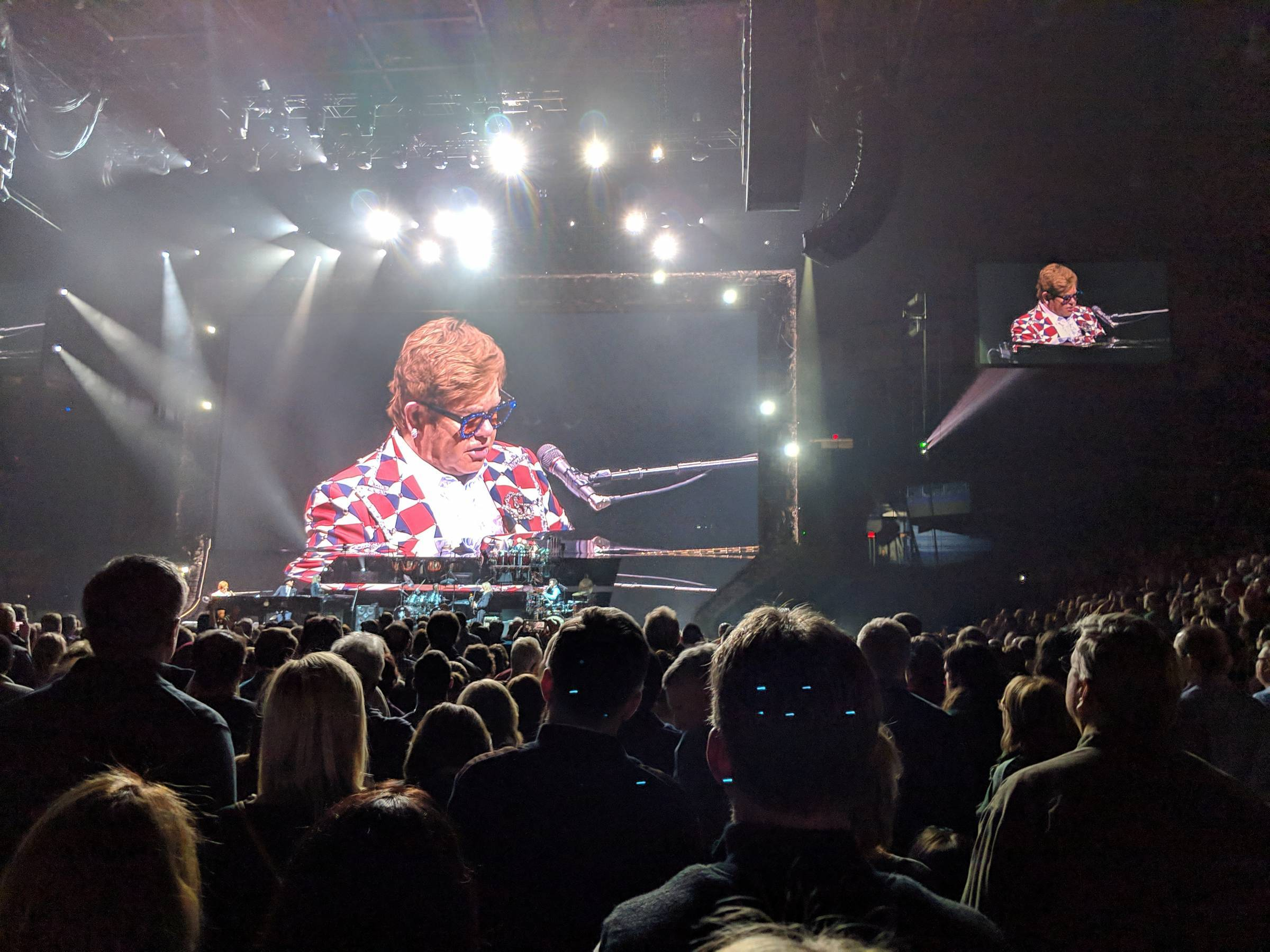 Elton John Photo with Crowd