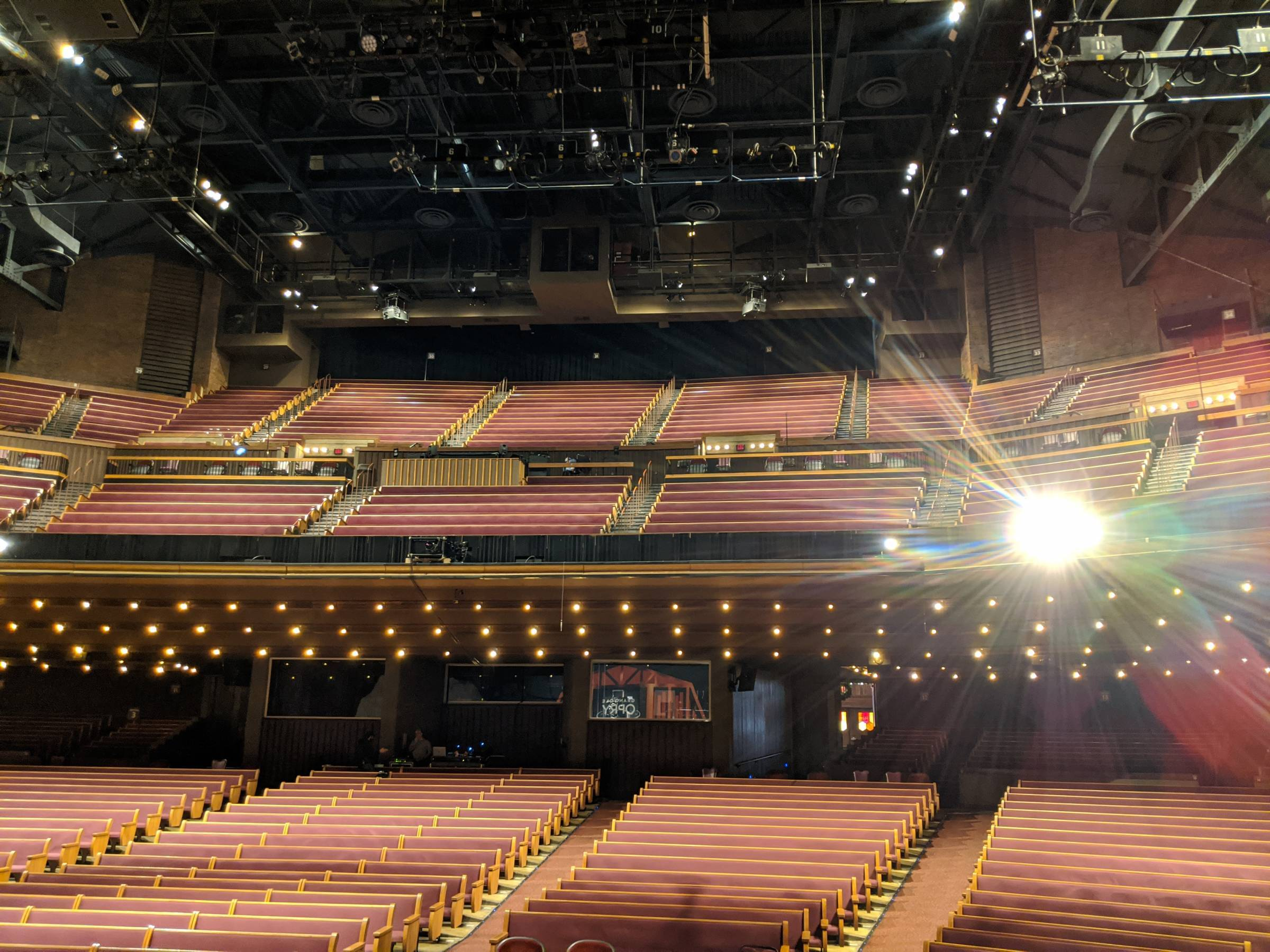 Grand Ole Opry House Seating