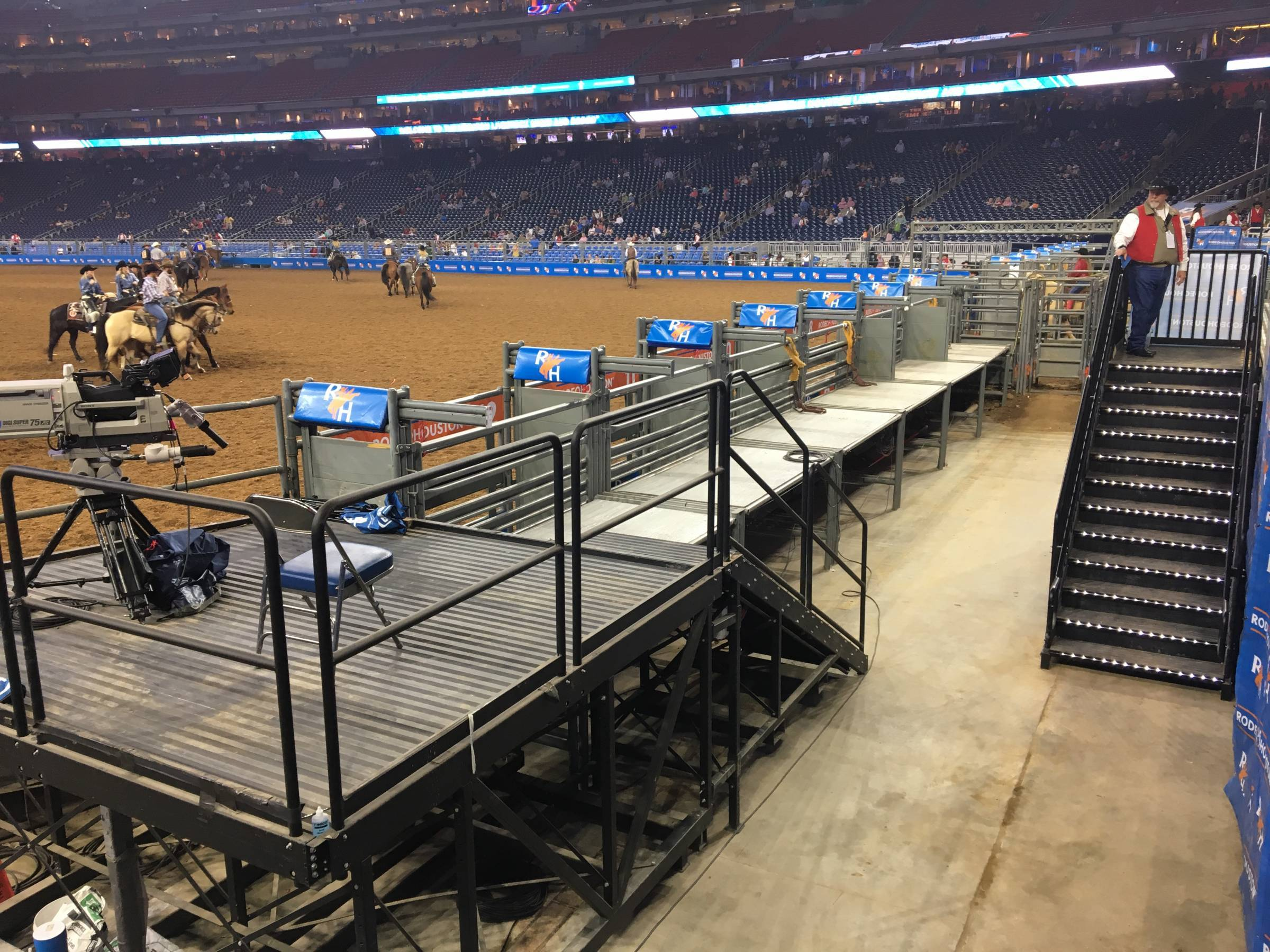Chutes at the Houston Rodeo