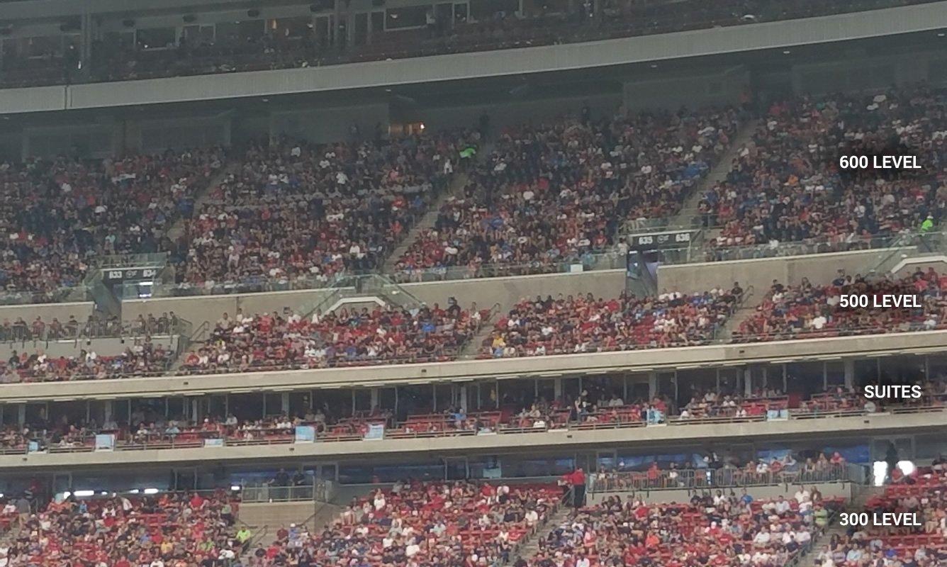 Houston Texans Nrg Stadium Seating Chart Amp Interactive Map