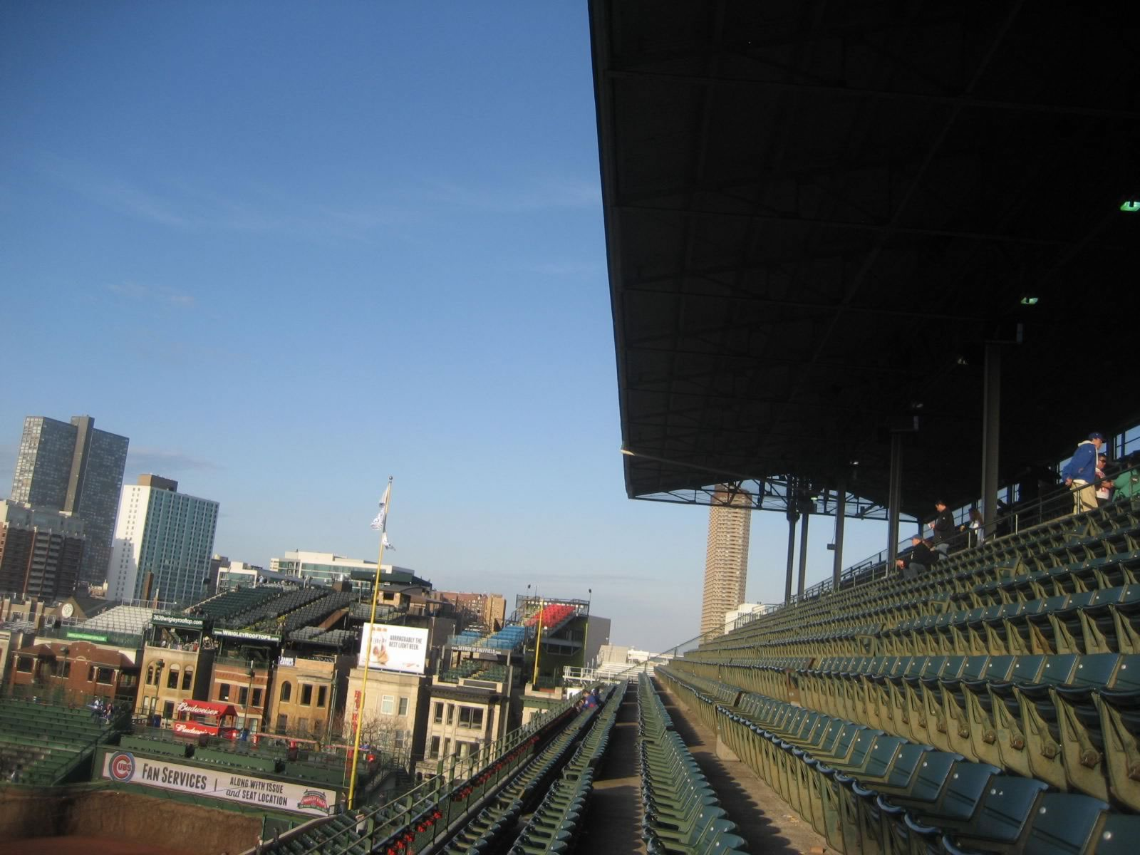 Wrigley Field roof cover