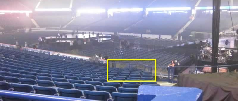 Allstate Arena Seating Chart With Seat Numbers