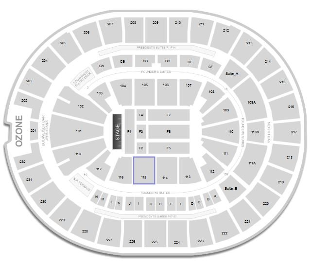 Section 115 Amway Arena