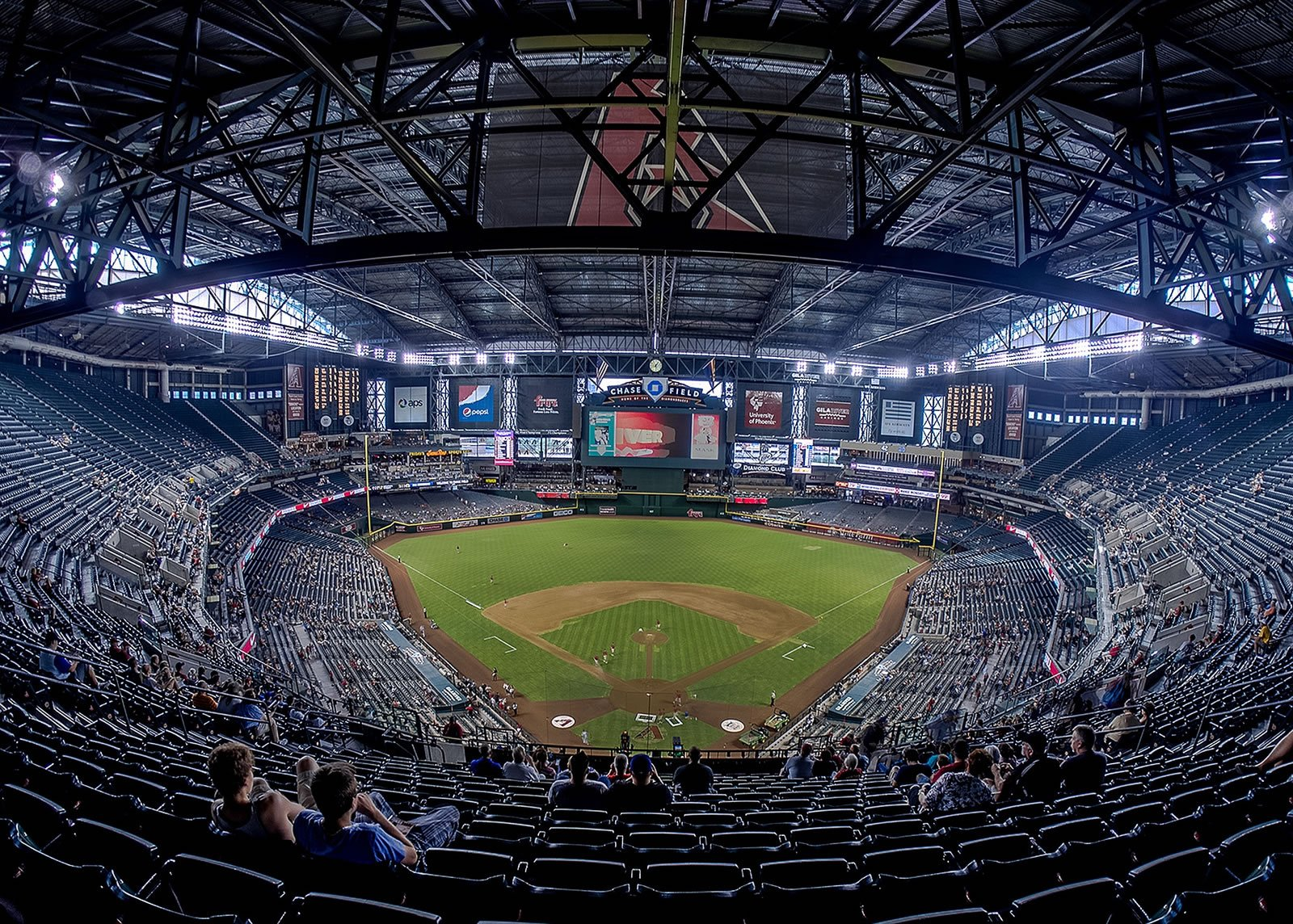 Seating Style in Section 316 at Chase Field