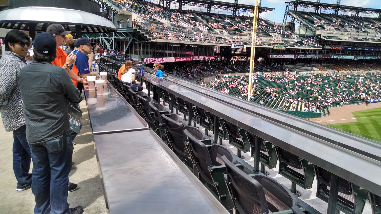 Right Field Balcony Seating Style