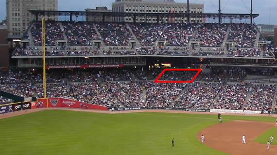 What Is The Difference Between Sections 116 And 116A At Comerica Park