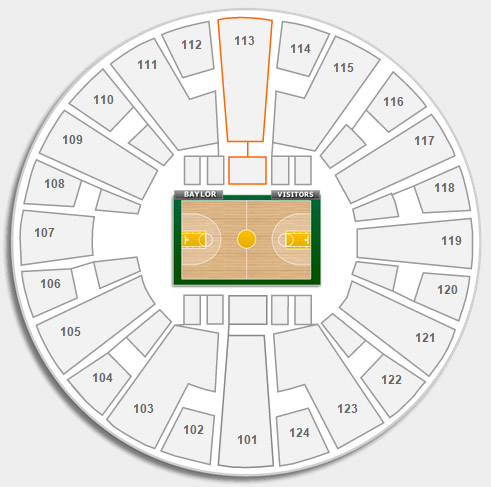 Section 113 Seating Location