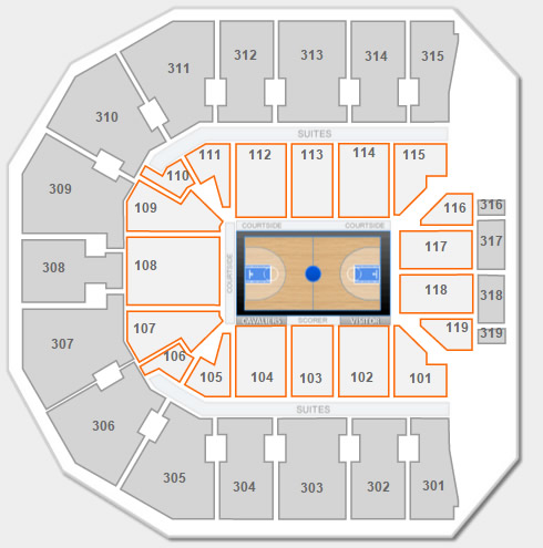 Are Lower Level Seats Ever Available At John Paul Jones Arena