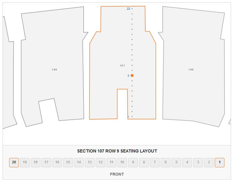 Madison Square Garden Concert Seating Chart Interactive Map – Madison Square Garden Seat Plan