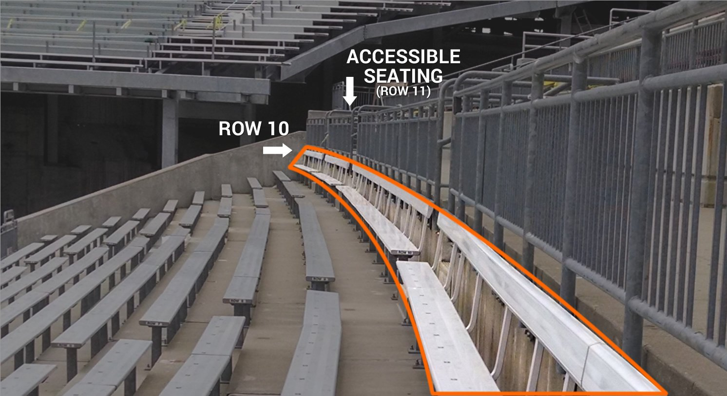 Ohio Stadium Seating Chart With Rows Awesome Home