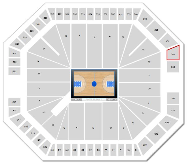 New Mexico Basketball Dreamstyle Arena Seating Chart Rateyourseatscom