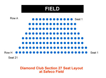 Seattle Mariners Safeco Field Seating Chart & Interactive