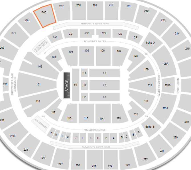 Amway Center Map Amway Center Concert Seating Chart & Interactive Map