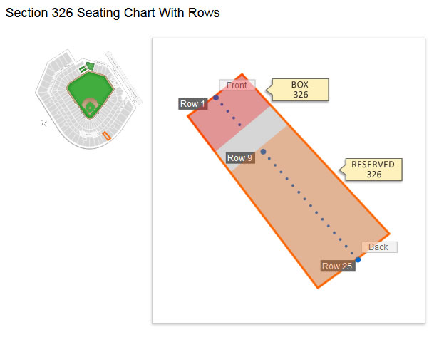 Baltimore Orioles Oriole Park Seating Chart Amp Interactive