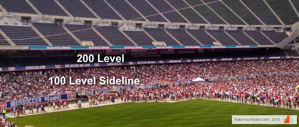 Soldier Field covered seating