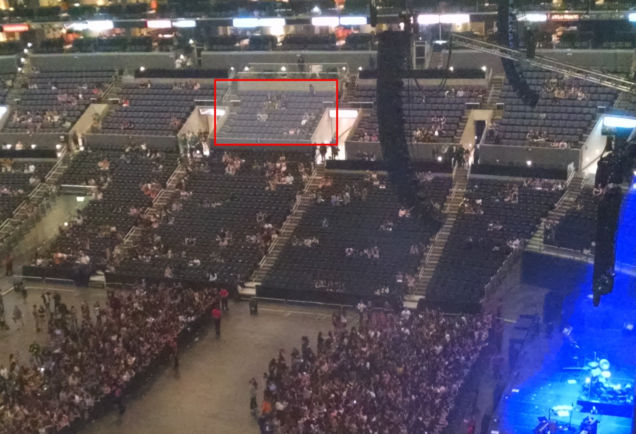Premiere Seating at Staples Center