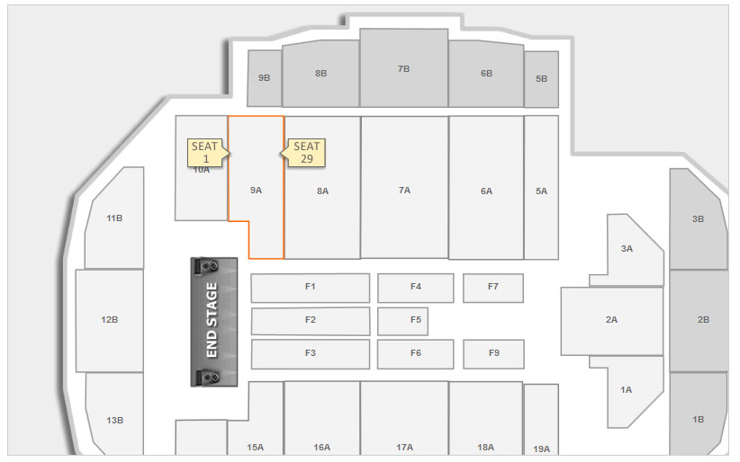 Tacoma Dome Concert Seating Chart