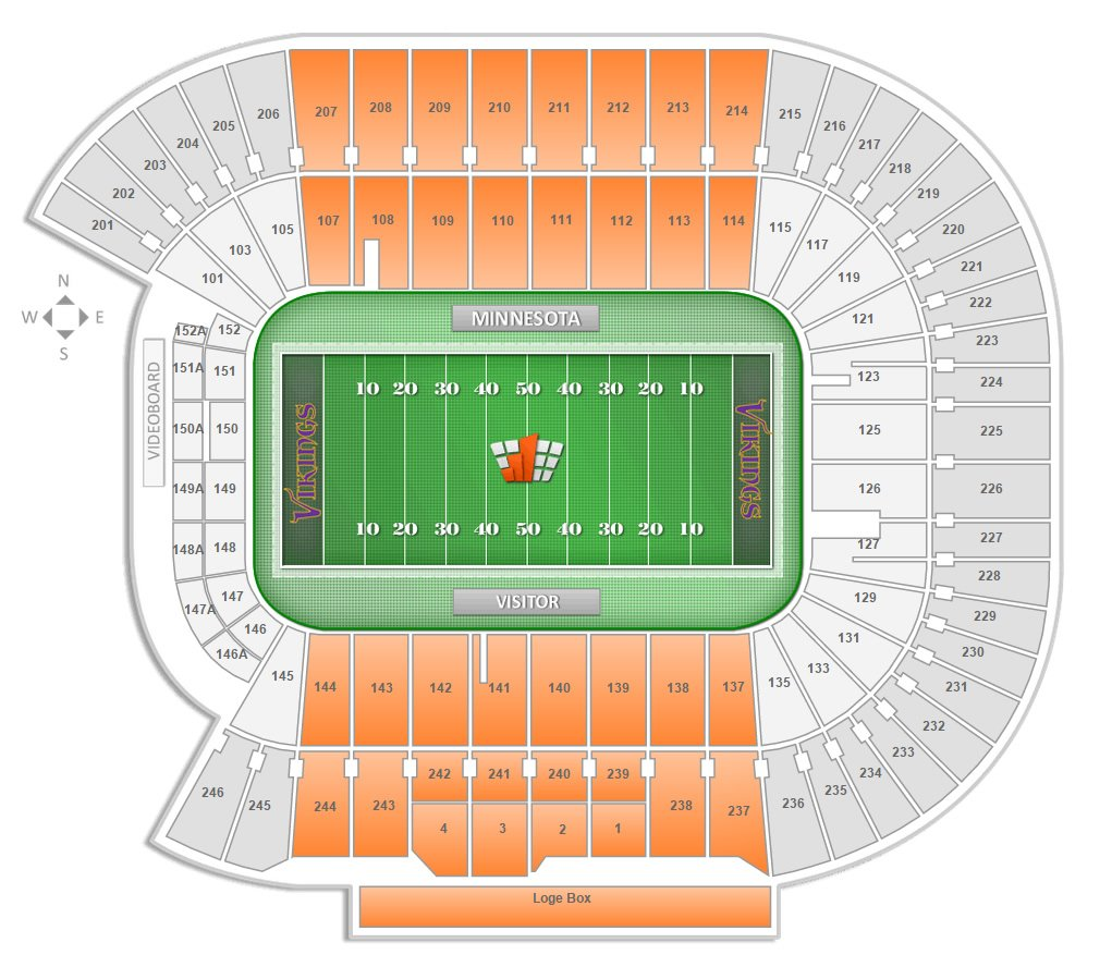 which seats at tcf bank stadium have chairbacks. minnesota football tcf bank stadium seating chart  rateyourseatscom
